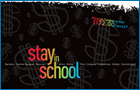 Image showing cover of Stay in School Brochure