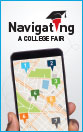 Image showing cover of the Navigating a College Fair Brochure