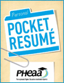 Image showing cover of the PHEAA Pocket Resume