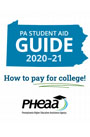 Image showing cover of the Pennsylvania Student Aid Guide